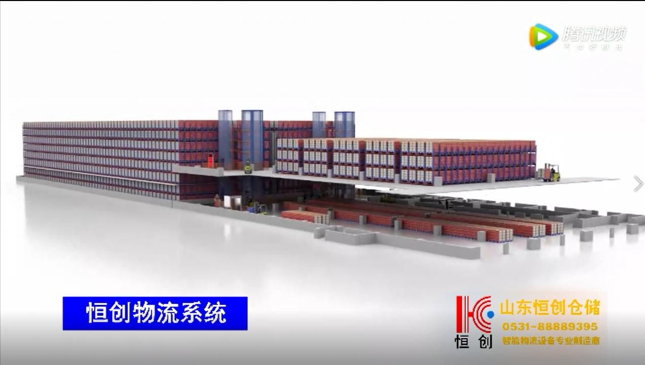 穿梭貨架構建自動話立體庫